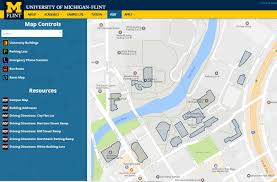 Maps Of Michigan Directions U0026 Maps University Of Michigan Flint
