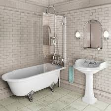 bathroom traditional roll top apinfectologia org bathroom traditional roll top showering roll top bath screen with minimal fixings bathrooms design 9