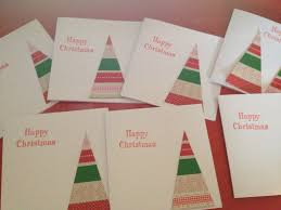 make a christmas card a thrifty easy christmas cards to make with children