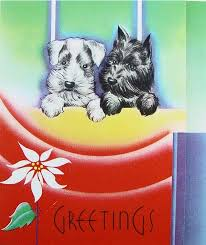 454 best cards puppies images on vintage