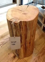 wood stump coffee table wood stump end table tree stump side table tree trunk kitchen table