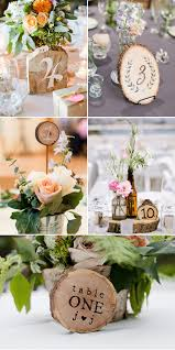 51 creative diy wedding table number ideas table numbers diy