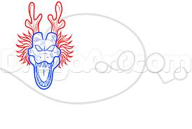 draw shenron dragon ball step step dragon ball