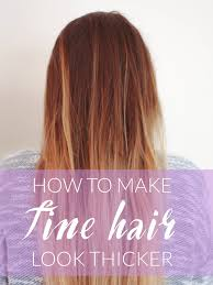 pictures ofhaircuts that make your hair look thicker top 10 ways to make your hair look thicker top inspired of hair