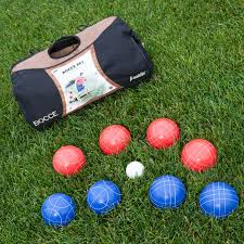 franklin combination 107mm bocce ball and croquet set hayneedle
