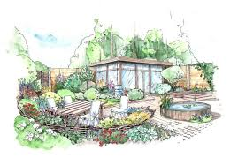 garden design drawings gallery images landscape design drawing