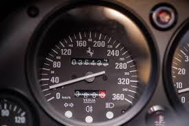 ferrari speedometer ex nigel mansell ferrari f40 sold for u20ac690 000 at bonhams auction