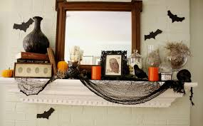 halloween mantle 50 great halloween fireplace mantel decorating