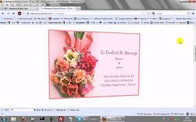invitã e mariage invitation ecarte mariage anniversaire fiançailles invitation de