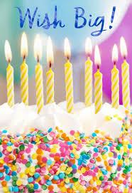 big birthday cards confetti cake wish big birthday card greeting cards hallmark