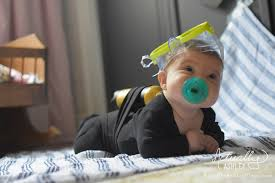 cheap and easy diy baby costume scuba diver actually ashley