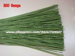 brown floral wire big order big discount 600pcs x 28 floral stem wire 23 6