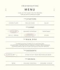 thanksgiving dinner menu template blog u2014 kayley elder