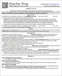 Objective For Electrical Engineer Resume 23 Engineering Resume Templates In Pdf Free U0026 Premium Templates
