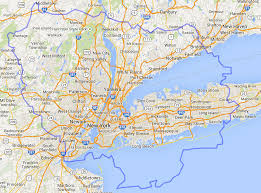 map of nyc areas map of new york city and surrounding areas major pleasing
