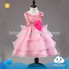 sd 349g latest western design sleeveless princess kids party wear