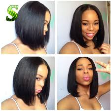 popular short lace front wigs african american women buy cheap