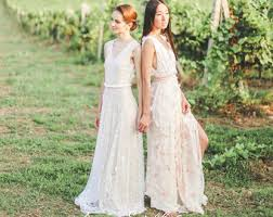 Boho Wedding Dresses Boho Wedding Dress Etsy