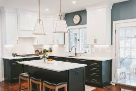 black kitchen cabinets flooring 75 beautiful wood floor kitchen with black cabinets