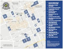 Tulsa Map The Tulsa Federal Credit Union Tulsa Run