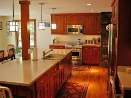 amish furniture kitchen island this mission style kitchen island has an interesting pillar in the