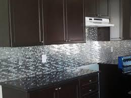 Steel Tile Backsplash by Stainless Steel Backsplash Behind Range Linoleum Flooring Square