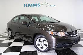 2014 used honda civic sedan 4dr cvt lx at haims motors serving