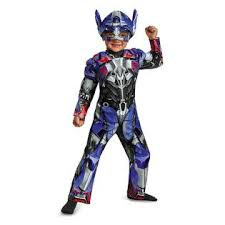 transformers optimus prime muscle halloween costume size 3t 4t