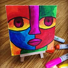 color mixing with sharpies art projects for kids