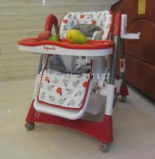 Feeding Chair For Sale On Sale Easy To Unpick And Wash Kid Folding Dining Red Chairs