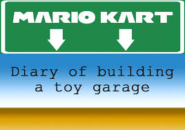 mario kart toy garage u2013 a build diary entry 1