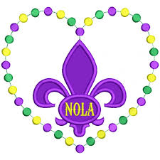 fleur de lis mardi gras mardi gras heart shaped nola fleur de lis applique machine embroidery design digitized pattern 700x700 jpg