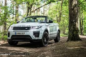land rover range rover off road range rover evoque convertible review carwitter