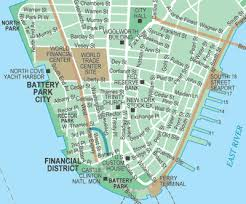 downtown manhattan map get around nyc s financial district with this handy map battery