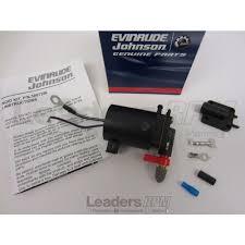 evinrude johnson omc new oem fuel primer choke solenoid 5007356 ebay