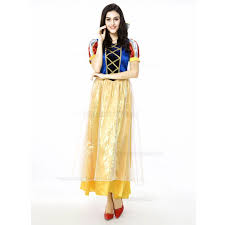 Snow White Halloween Costume Women Aliexpress Buy Snow White Halloween Costume Women