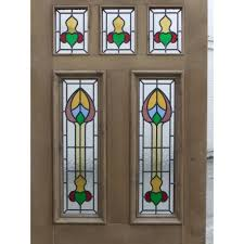 stained glass door patterns sd037 victorian edwardian original exterior stained glass