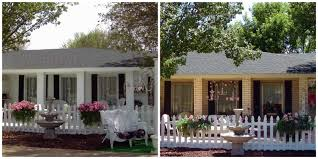 exterior painted brick houses with exterior paint ideas and front