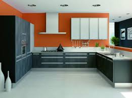 cuisine grise et orange quelle peinture pour ma cuisine orange kitchen kitchens and