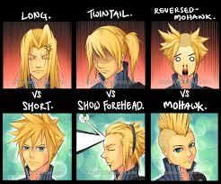 Final Fantasy Memes - hair meme cloud by mk junior on deviantart