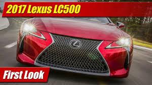 lexus sc500 convertible 2017 lexus lc500 first look youtube