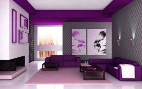 Wall Paint Colours Home Design The Modern Home Decor Modern Purple And Gray Wall