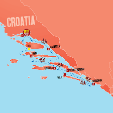 Map Of Croatia And Italy by 8 To 14 Day Sailing Tours Expat Explore