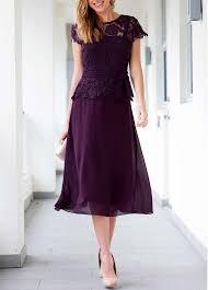 sleeve dress lace panel v neck pruple sleeve dress liligal usd 37 26