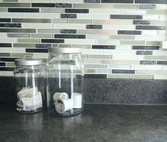 Kitchen Backsplash Stick On Self Adhesive Backsplash Tiles Stick On Sticky Tile Peel And Stick