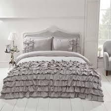 Ruffle Bedding Set Bedding Modern Ruffle Frilly Duvet Cover Pillowcase Bedding Set
