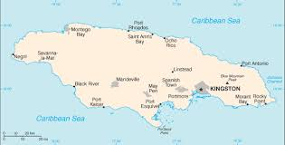 map usa to jamaica the world factbook central intelligence agency