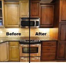 resurfacing kitchen cabinets before and after