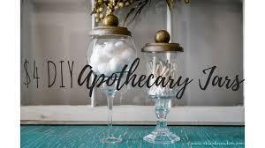 4 apothecary jars budget friendly bathroom decor a kreative whim