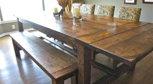Farm Style Dining Room Sets - dining room gratifying enjoyable farm style dining room table